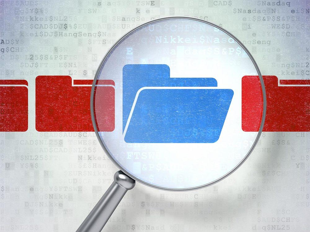 Archivio digitale e strutturato dei documenti contabili